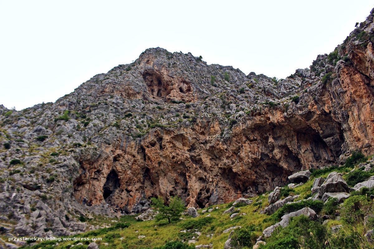 kanion torrent de pareis_majorka_hiszpania