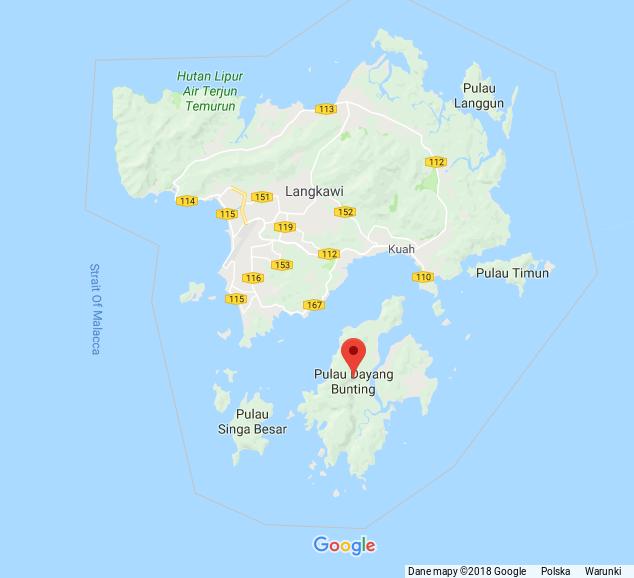 pulau dayang bunting_mapa