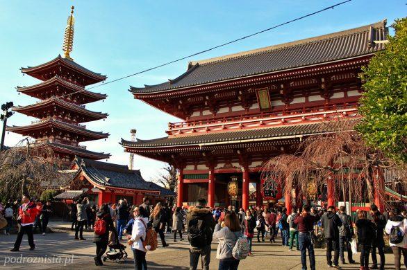 Świątynia Senso-ji w Tokio