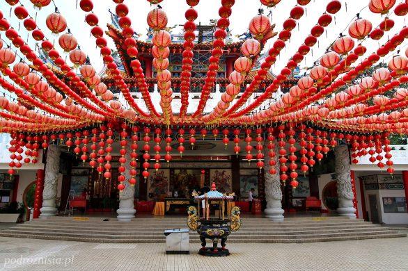 Świątynia Thean Hou w Kuala Lumpur w Malezji