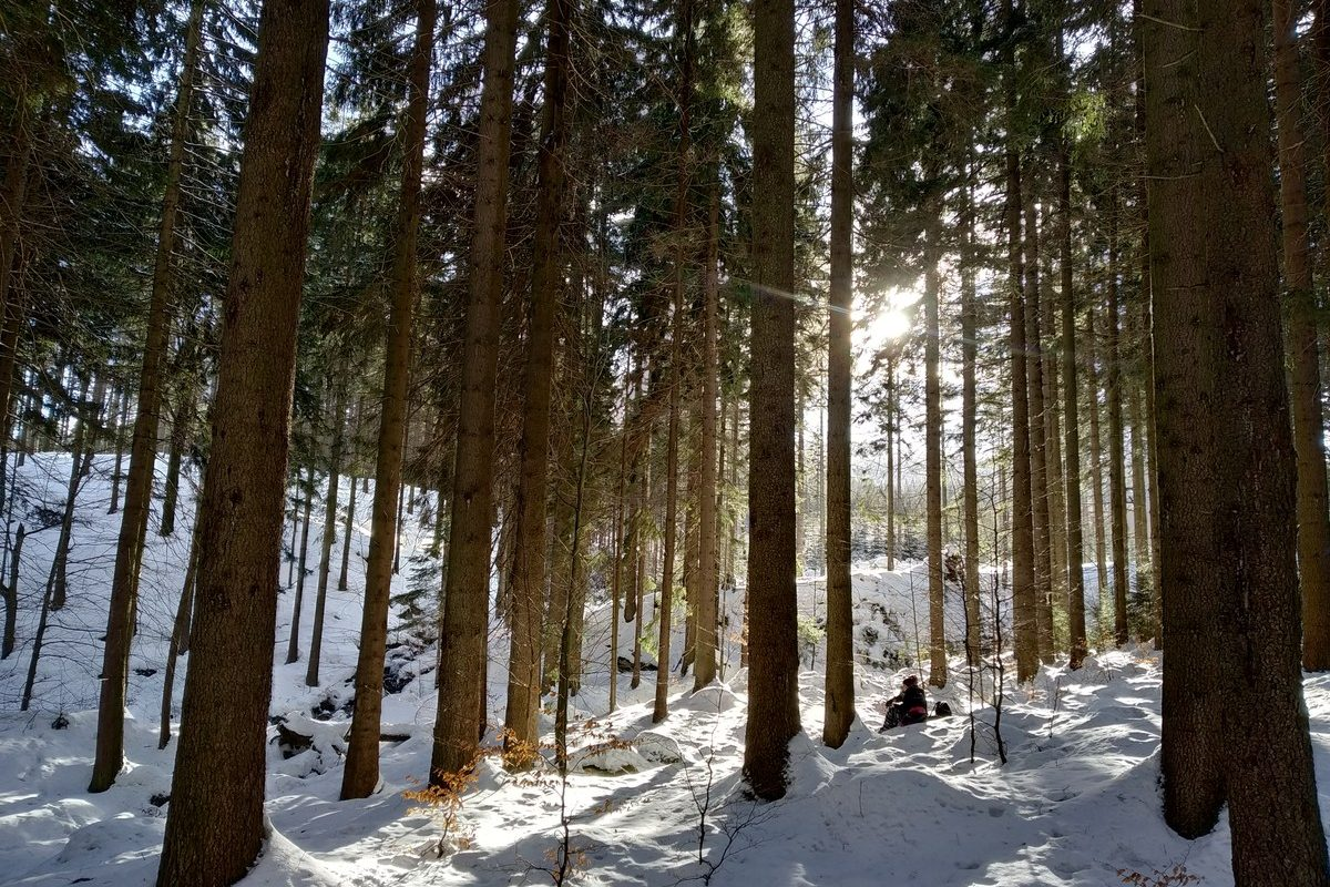 Szklarska Poręba zimą